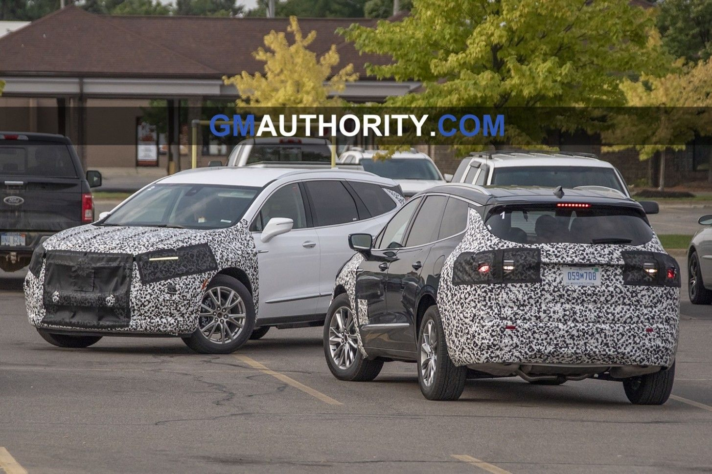 3 Buick Enclave Spy Photos Exterior  Buick enclave, Buick