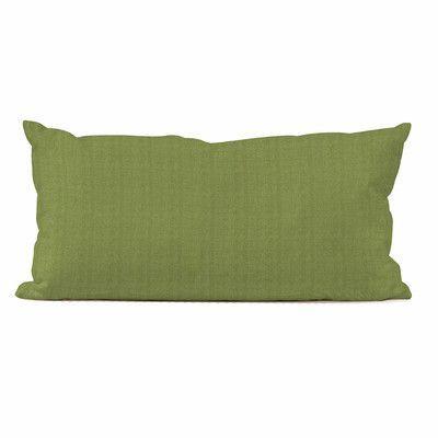 Howard Elliott Kidney Outdoor Sunbrella Lumbar Pillow Fabric: Seascape Moss