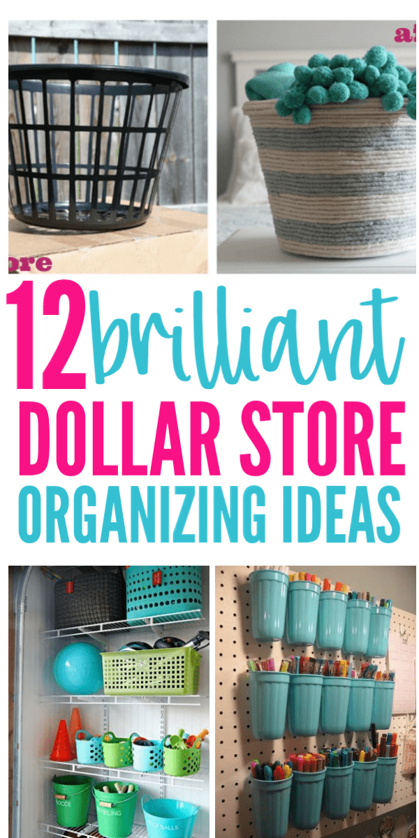 12 Dollar Store Organizing Hacks You Must Do Right