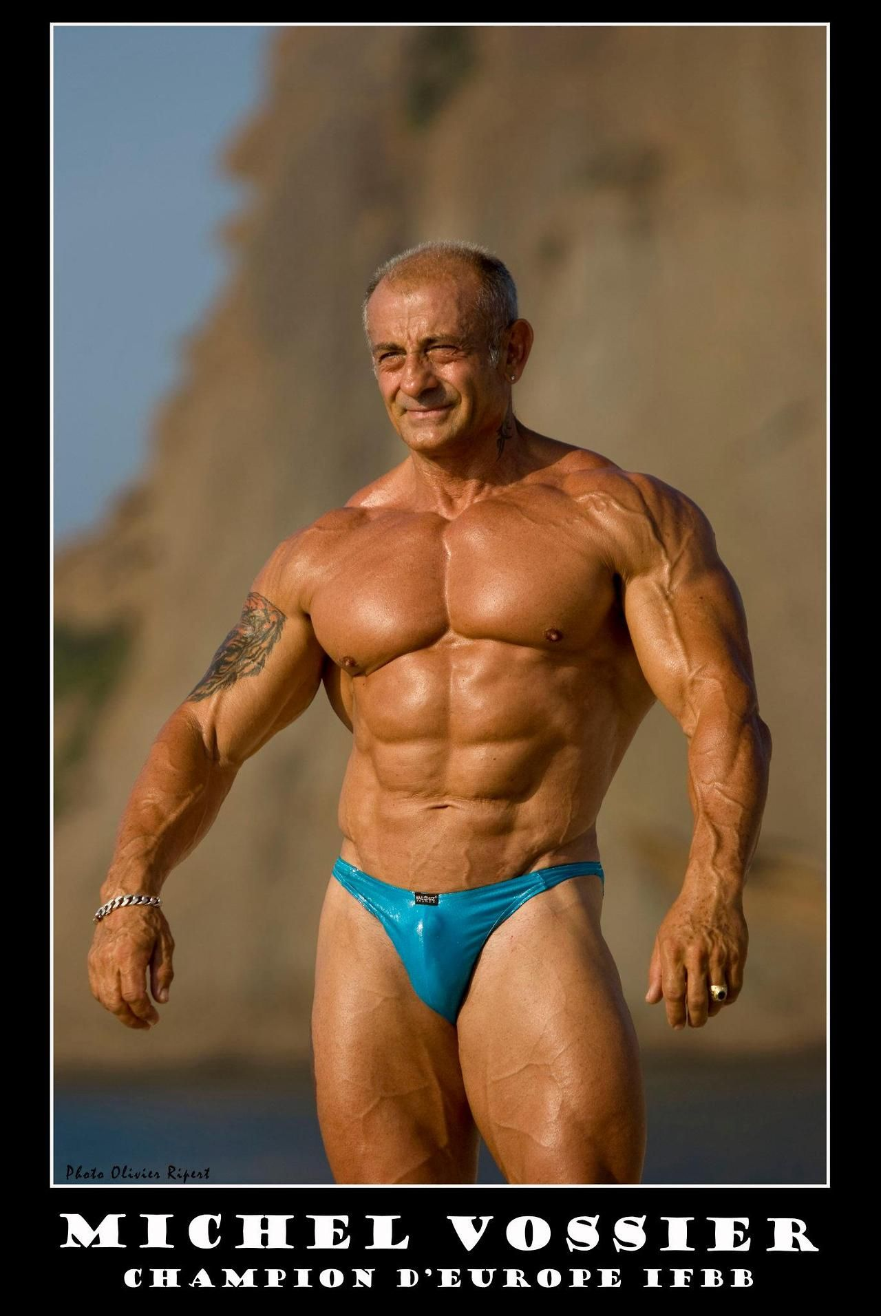 Michel Vossier | mature muscle | Pinterest | Muscles ...