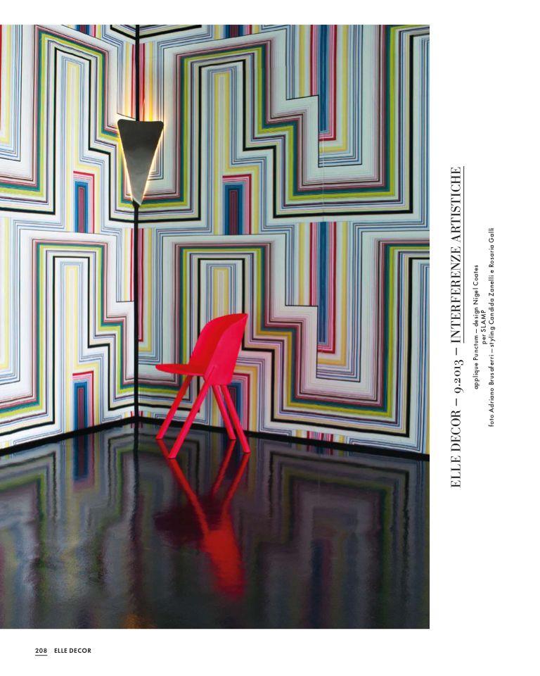 Papier peint envoûtant / Elle Decor Italia - Ottobre 2015