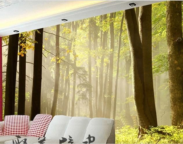 New can be customized home decor big Wallpaper tv wall stickers ...