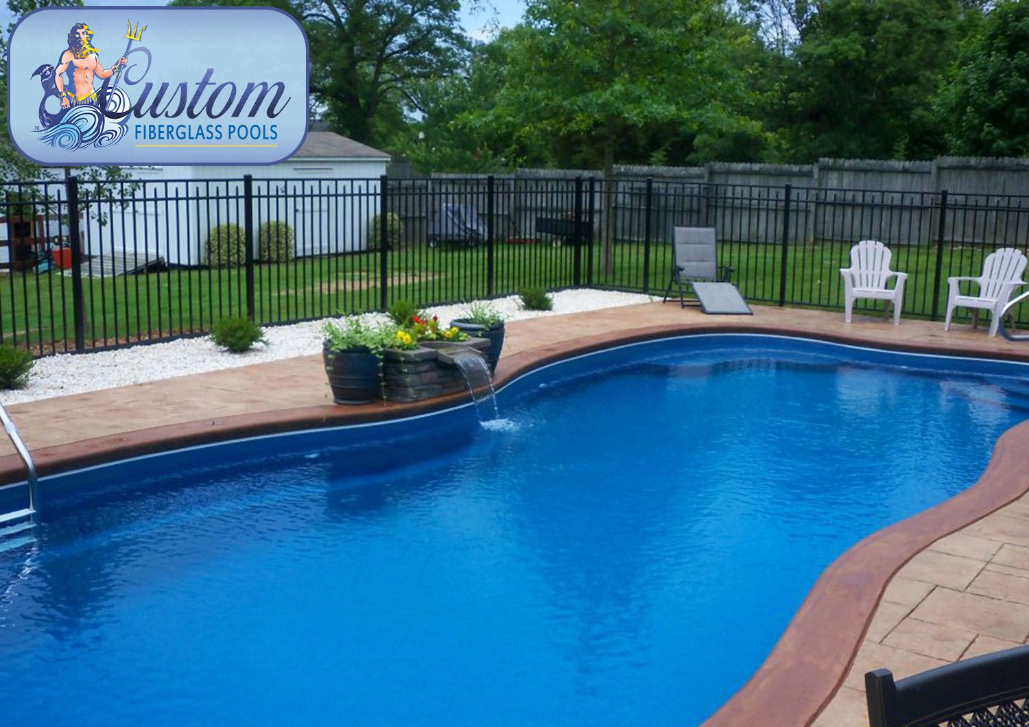 Tahiti 14x34 Awesome Pools is located in Apison Tennessee and