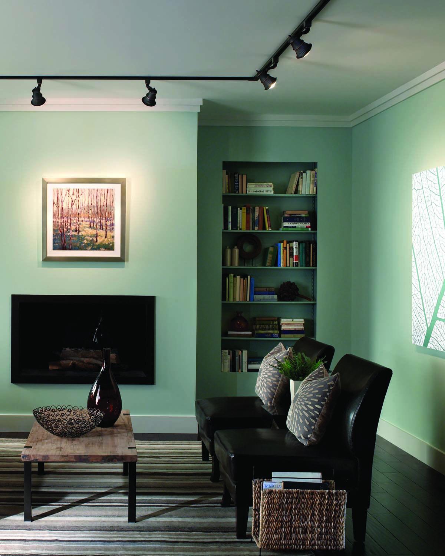 Living Room Lighting Design Tips. Track Lighting 02