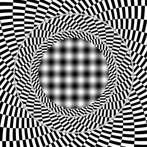 cool effect looks like a 3d portal cool stuff