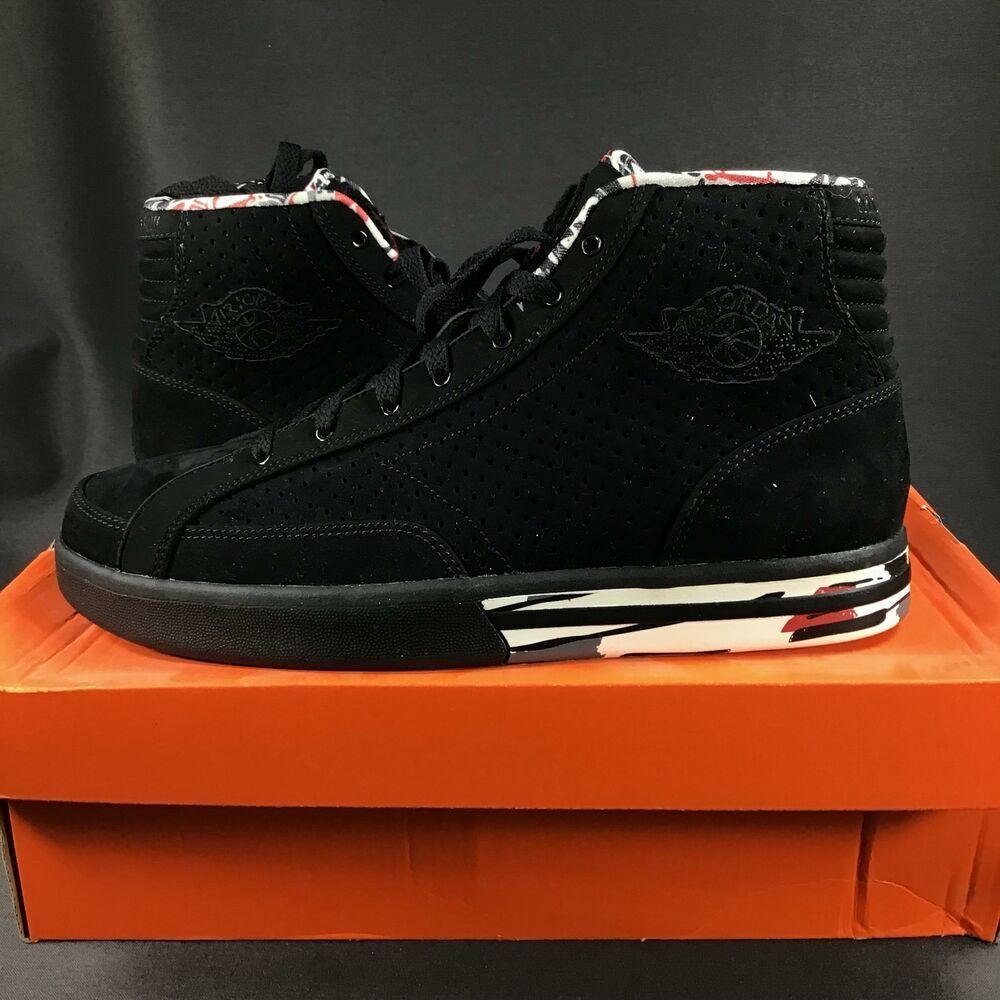 562d7f2987e33c (eBay Sponsored) 2009 Y3SS SAMPLE Nike Air Jordan PHLY Legend Premier Black  343449063 Size