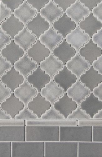 Small Arabesque Shapes For Wall Or Floors Adds A Subtle Whimsy Yet Sophisticated Air To Any Space Arabesque Tile Moroccan Tile Mediterranean Bathroom