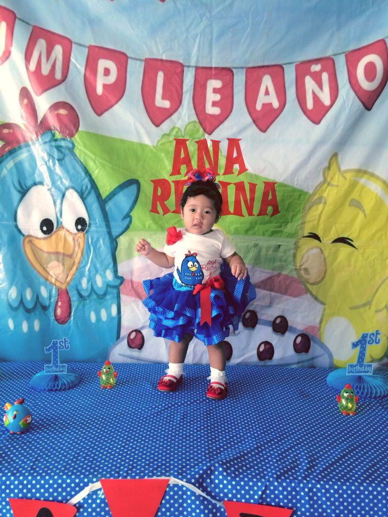 Gallina Pintadita Vestido Aranzas 2 Fiestas Ideas Y Cake