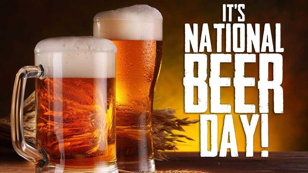 April 7th Is Nationalbeerday Beer Day National Beer Day Beer Brewing