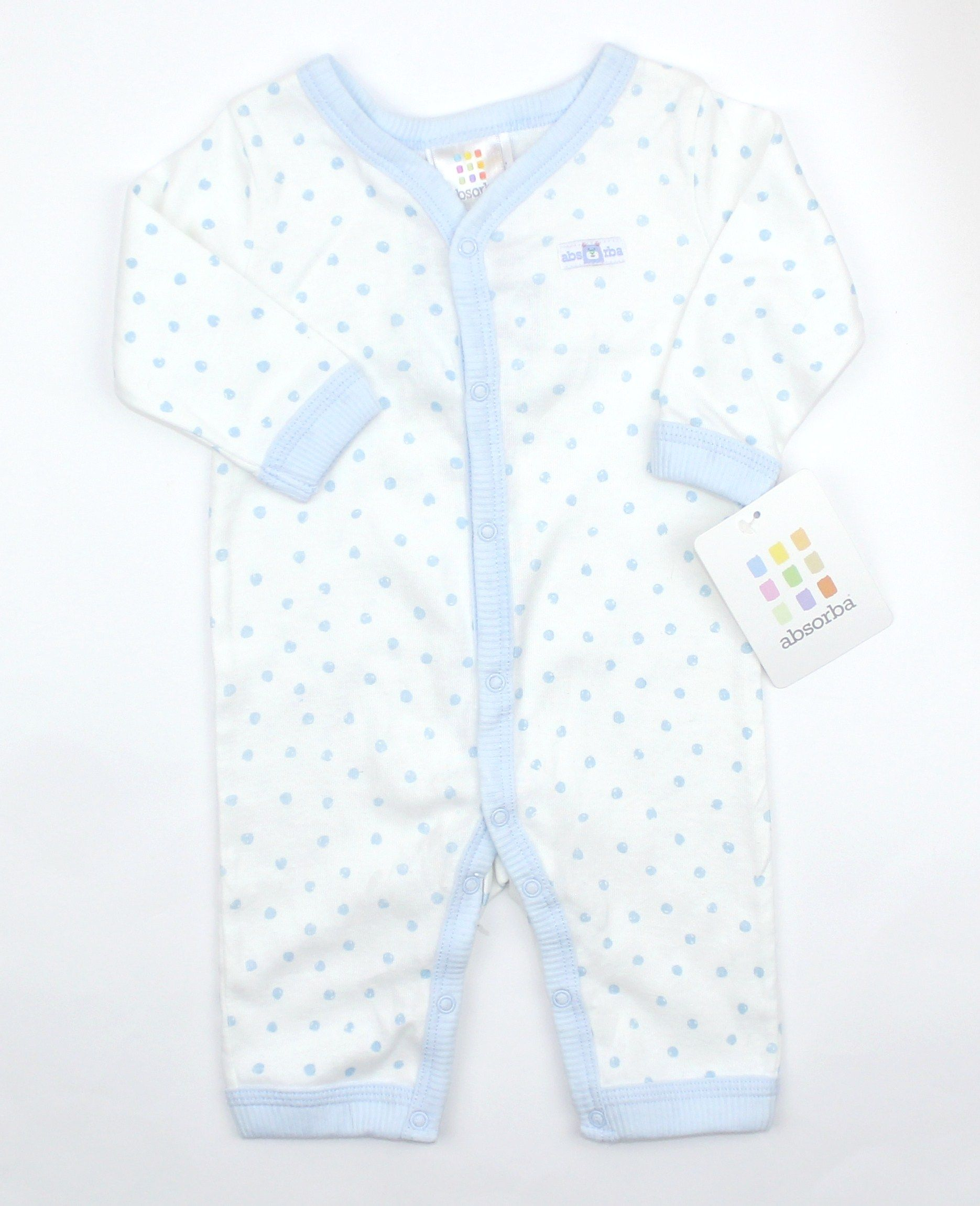 NWT Baby Boy Footless Sleeper by Absorba in Size 0 3 Months ly