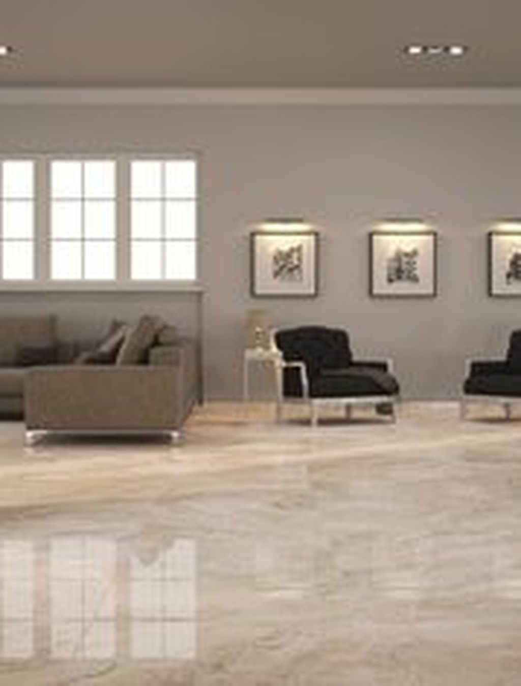 31 Chic Living Room Design Ideas With Floor Granite Tile To Have In 2020 Large Floor Tiles Living Room Tiles Tiles Design For Hall