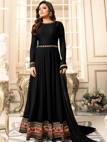 b22f1ff665a Online Shopping for Pink Nitya Drashti Dhami Floor Length Dress. All the  Latest Collection by 100% Original Company. High-Quality Fabric Material.