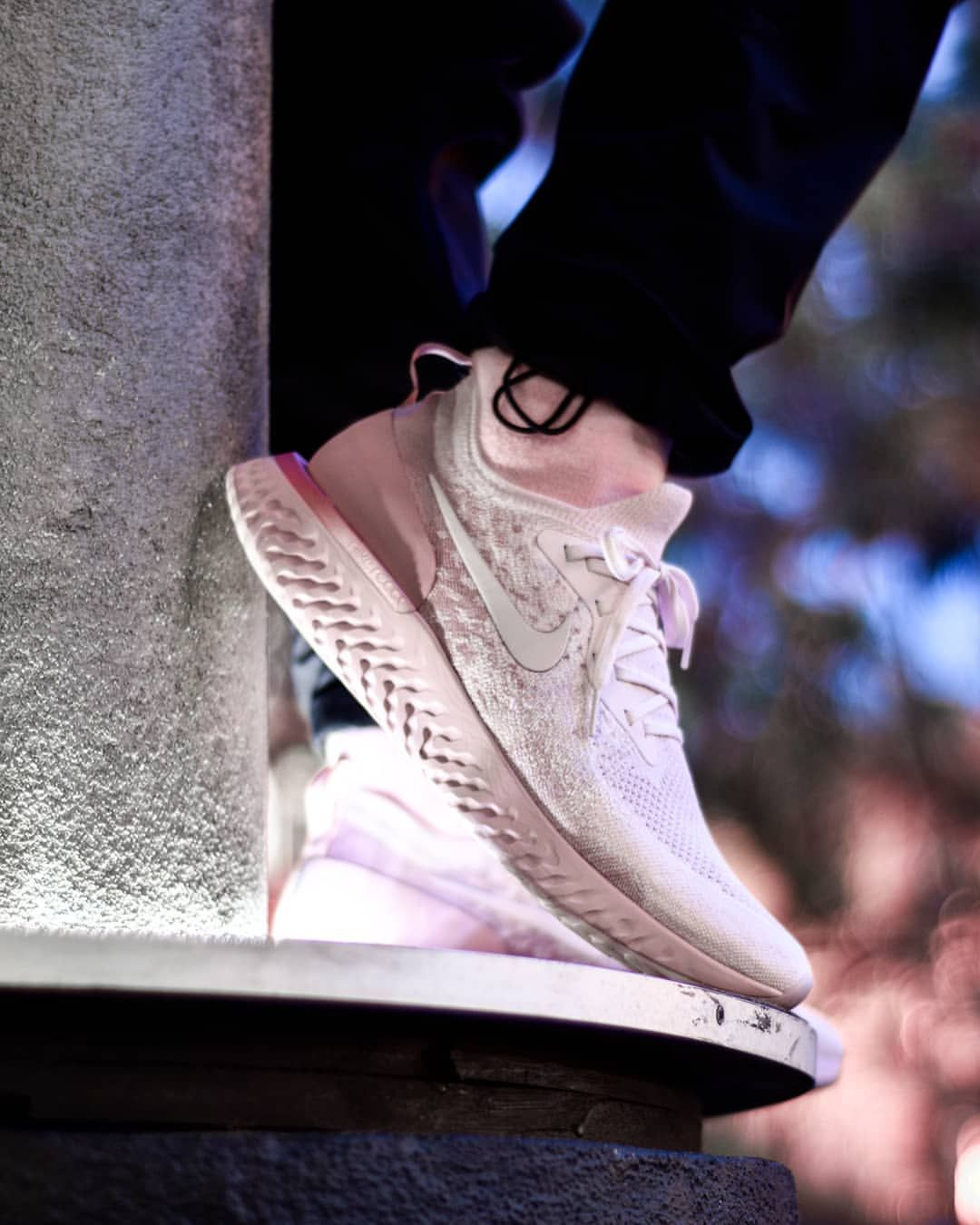 0e3c3f1276d4 Nike Epic React Flyknit  Pearl Pink
