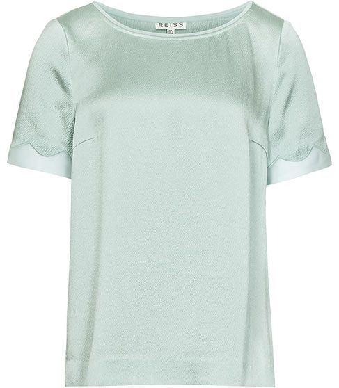 Reiss Cannes TEXTURED SILK TOP #london #shopping #fashion #retailer #gng