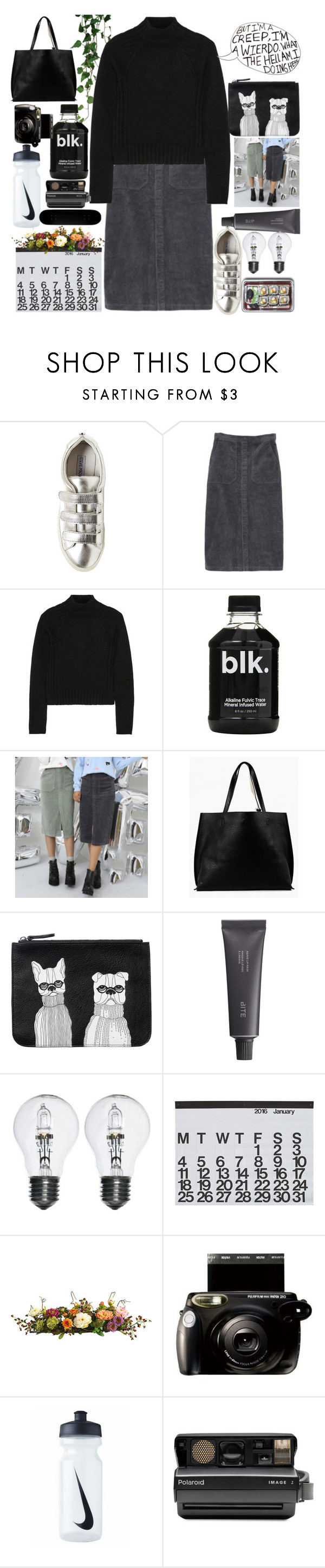 """If that's not love that what is, If that's not friendship then what is "" by melaningaloree ❤ liked on Polyvore featuring Steve Madden, Autumn Cashmere, Azalea, Monki, Bite, Pieces, Crate and Barrel, Nearly Natural, NIKE and Polaroid"