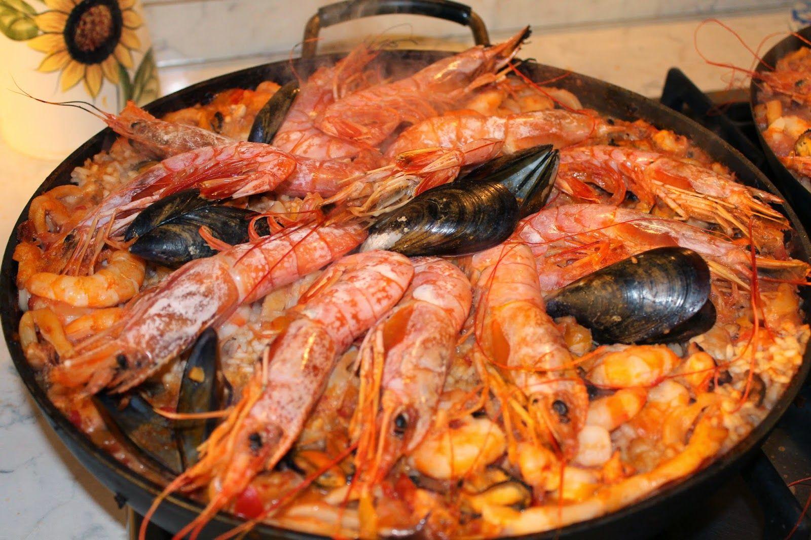 Chiara Maci: Paella ricca | paella di pesce e mista | Pinterest ...
