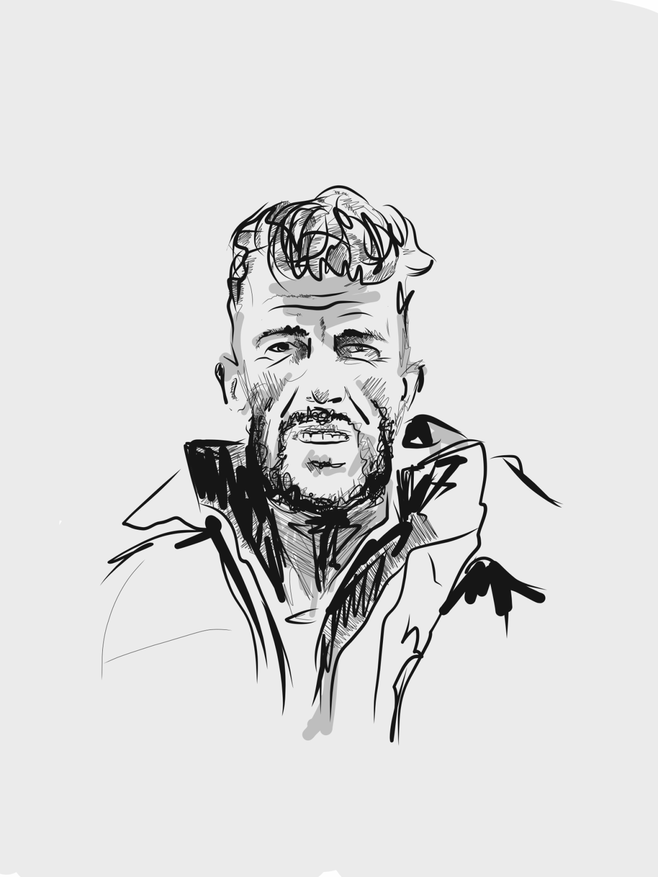 Illustration of Edmund Hillary, the first man to climb