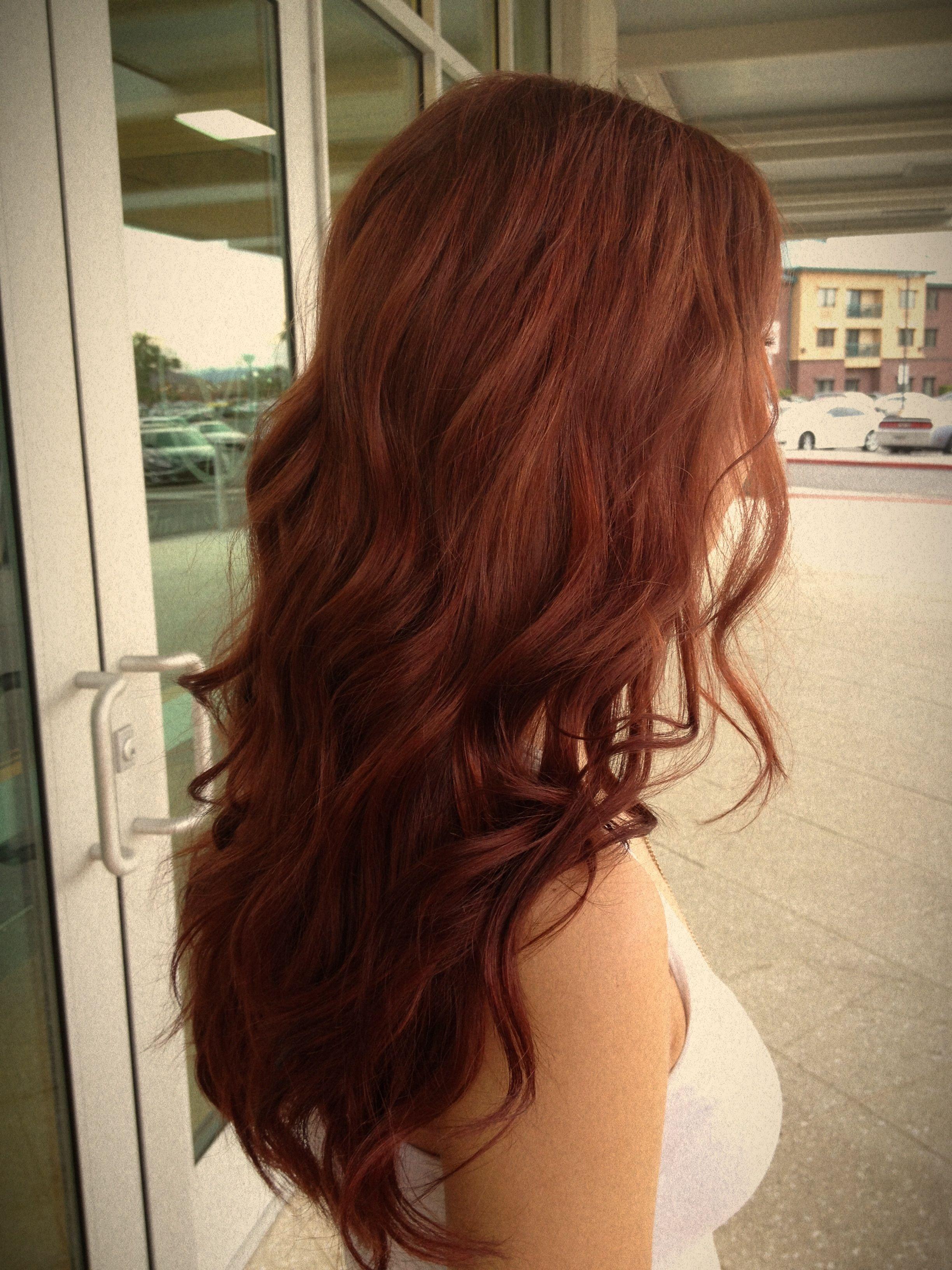 A more natural dimensional red Dee Mueller  Hair  Pinterest