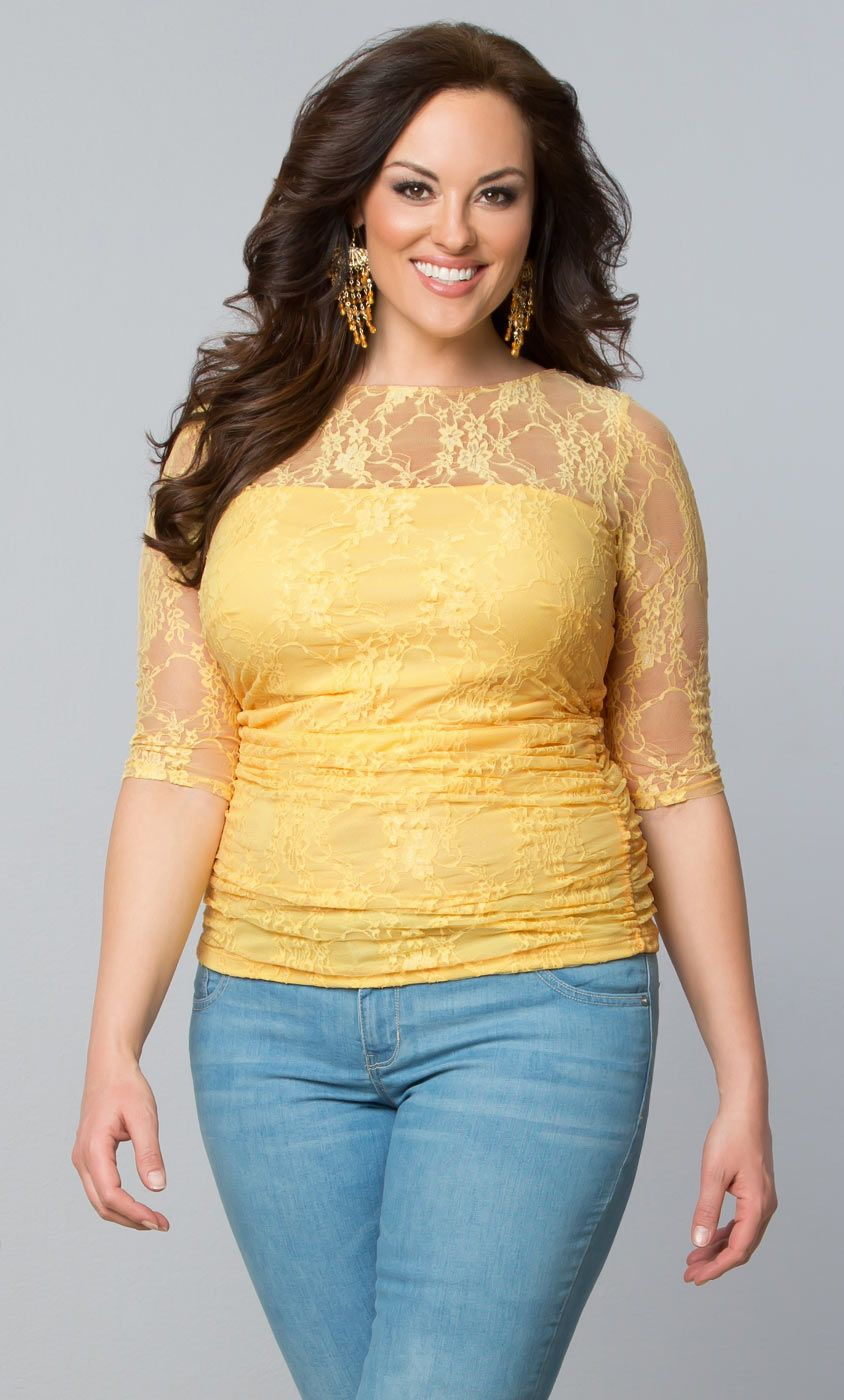 Check out the deal on Smitten Lace Top at Kiyonna Clothing  Check out the deal on Sunset Stroll Bellini at #Kiyonna Clothing  #Mothersday early shopping http://www.planetgoldilocks.com/mothersday.htm  see  #fashions   #gifts #plussize #madeintheusa t's not just a name, we are confident that you will be completely smitten and in love with this top. With ruching all along the torso, this top will flatter and hug all of your fabulous curves.