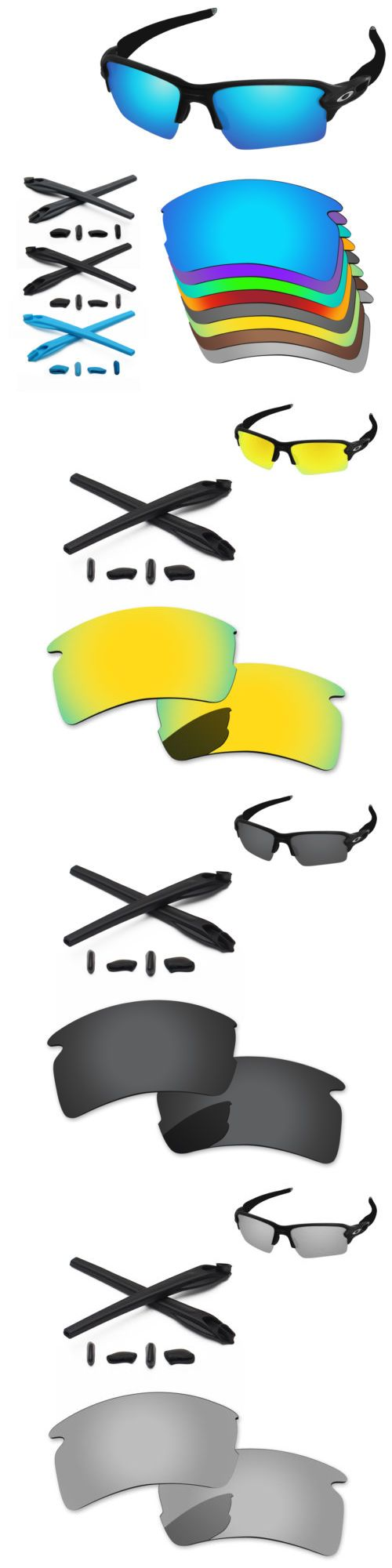 722b159dfbc Replacement Lenses and Parts 179195  Papaviva Polarized Replacement Lenses  And Kit For-Oakley Flak 2.0 Xl Oo9188 - Opt -  BUY IT NOW ONLY   19.98 on   eBay ...