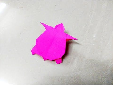 How To Make An Origami Paper Sea Turtle Mr Knodle Pinterest