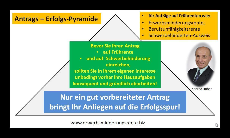 Fruhrente Erwerbsminderungsrente Antrag Erfolgs Pyramide Video Neu Finanzen Pyramide Tipps Und Tricks