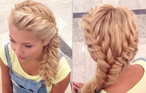 French Braid Hairstyles Enchanting Two French Braid Hairstyles For Womenfrench Braid Hairstyles For
