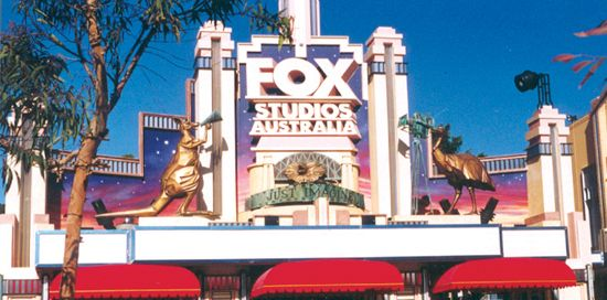 Design strategy for tourism, leisure and recreation businesses - Fox Backlot, Fox Studios