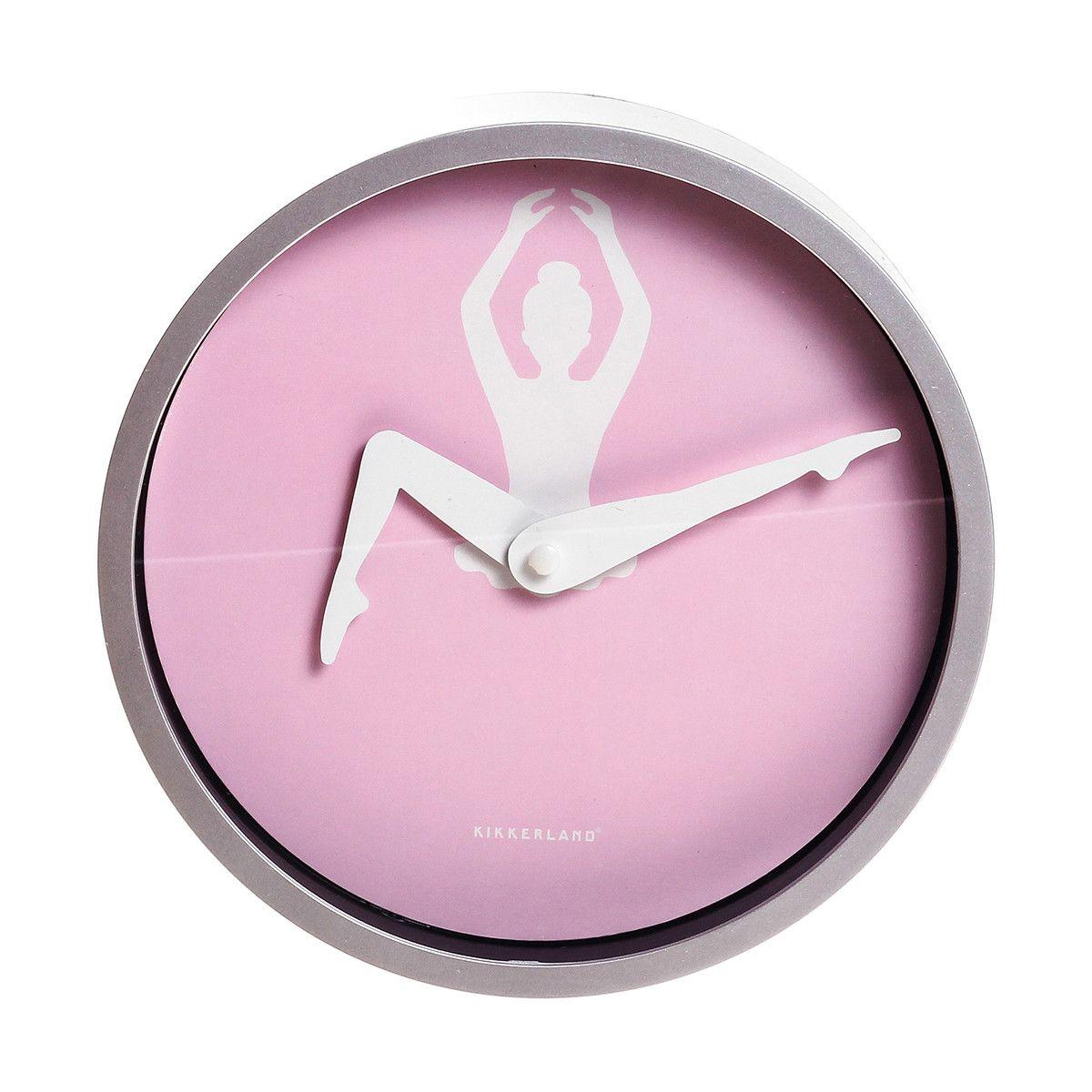 Wall Clock 8 Ballerina Ballerina Bedroom Clock Ballerina Room