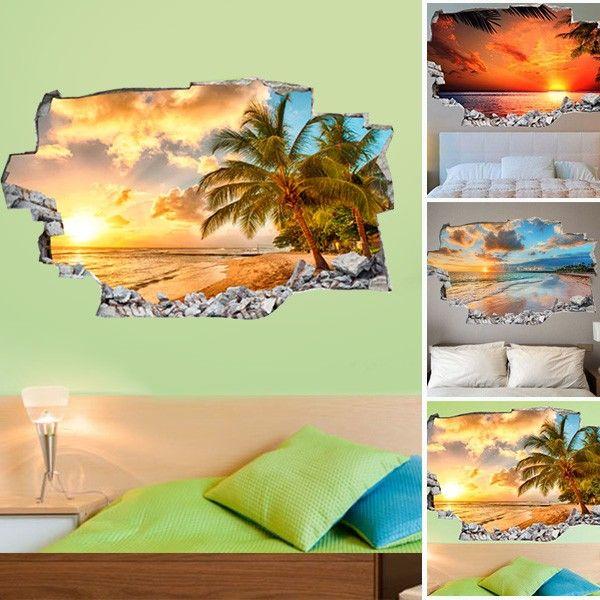 Decorare una parete di casa con gli adesivi murali 3D! 20 ...