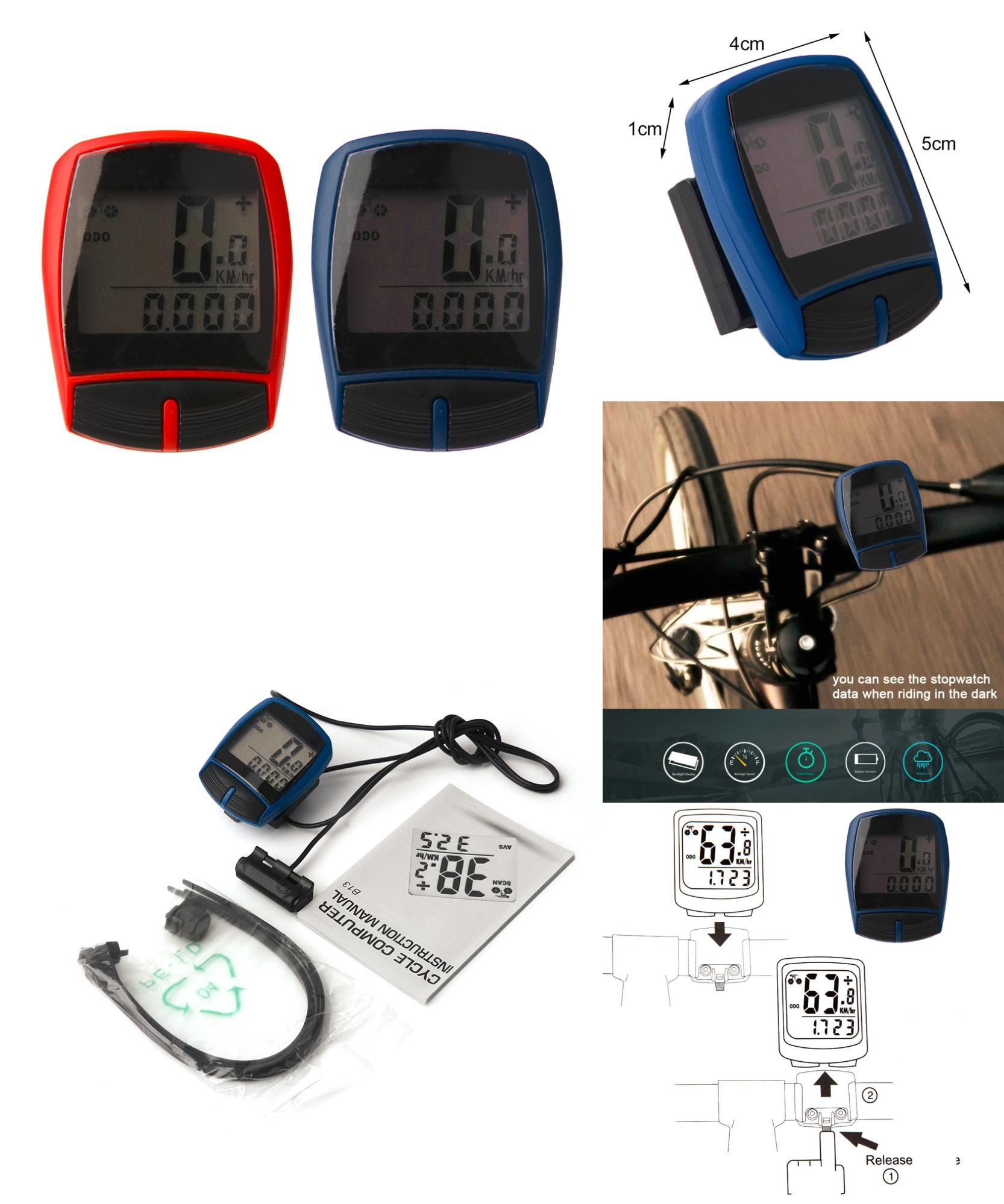 Visit To Buy Multifunctional Xc Shell Wired Cycling Bike Bicycle Computer Odometer Pedometer Backlight Design Bicycle Design Bicycle Accessories Bicycle Bike