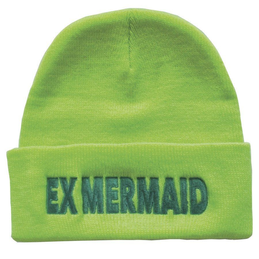 f4335f8773e Ex Mermaid Highlighter Beanie