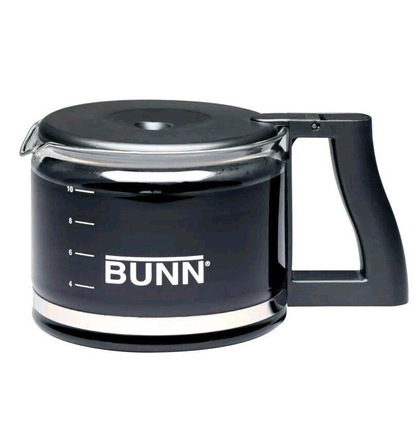 Bunn Coffee Carafe 10 Cup 50 Oz Glass Black Coffee Pot Ncd New