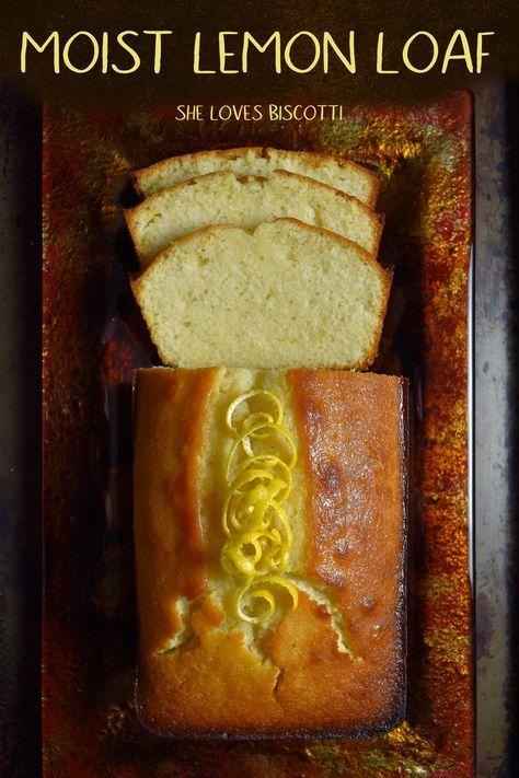Lemon Loaf: The Best Recipe Ever!!!