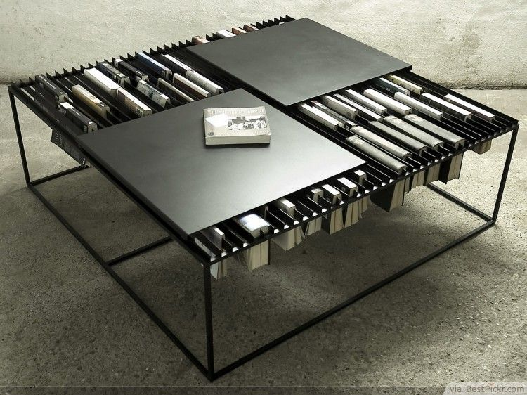 Elegant Nar Coffee Table + Bookshelf Design ❥❥❥ Http://bestpickr.