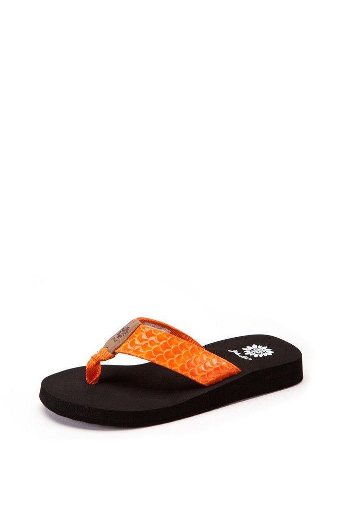 ecb15ab42 Yellow Box Sammi Orange Flip Flop