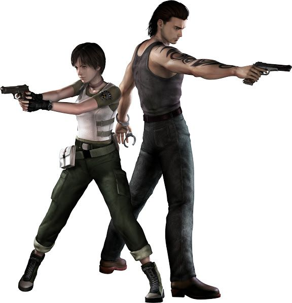 Billy Coen Rebecca Chambers Resident Evil 0 Hd Remaster With