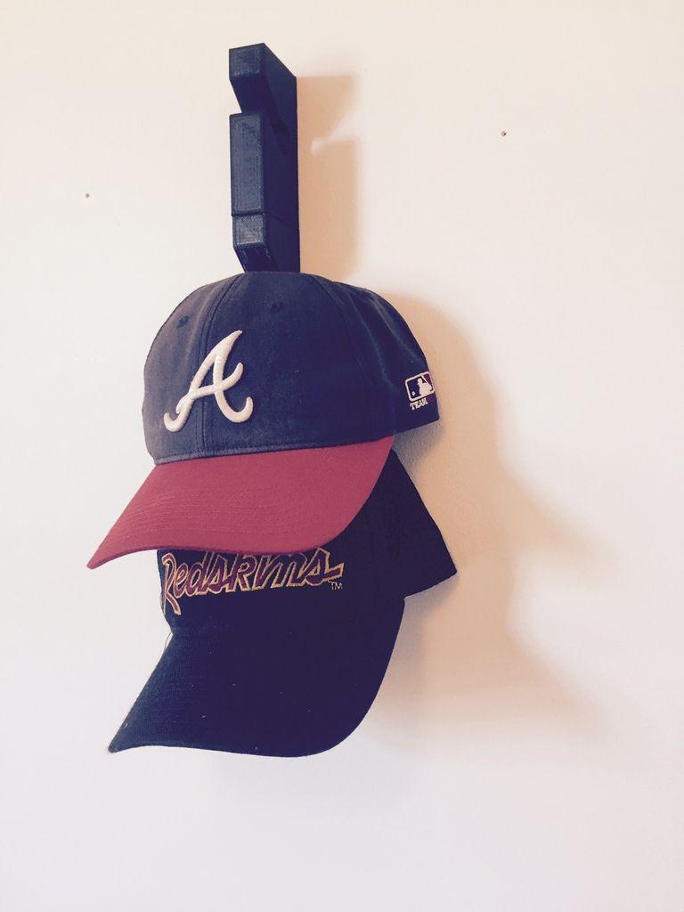 Modular Baseball Hat Rack Wall Mounted By Gw286 Diy Hat Rack Hat Rack Hat Hanger