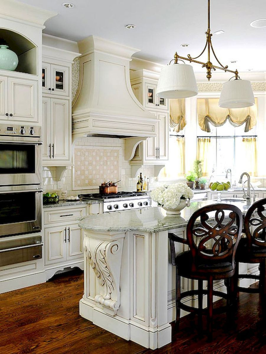 40+ amazing french country kitchen modern design ideas (25 | French ...