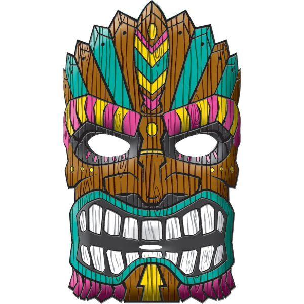 Tiki Mask | Tiki's n stuff | Pinterest | Tiki mask ...