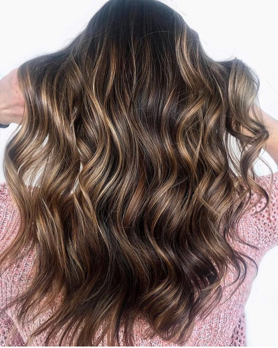 Wedding Hair Color Ideas: Cocoa By @hair_bykate #mastersofbalayage #behindthechair