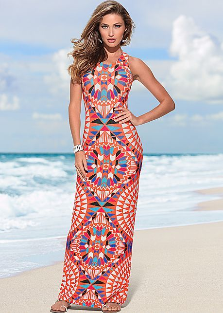 8d471535ca4 PC% Printed maxi dress from VENUS