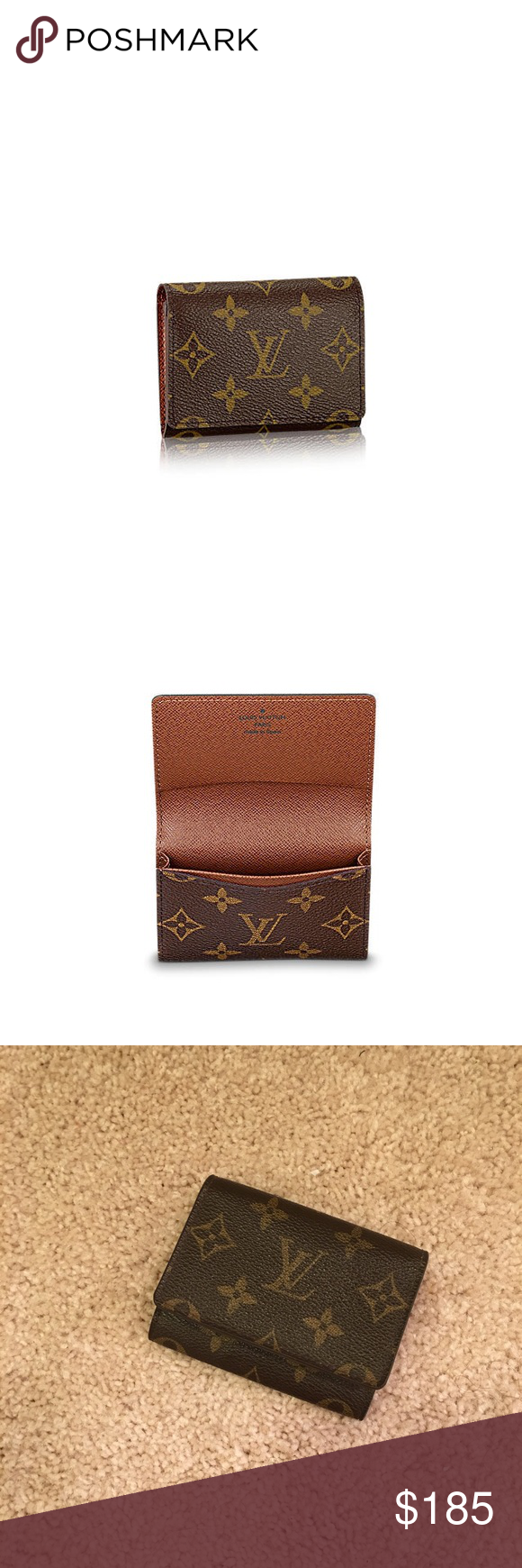Louis Vuitton Business Card Holder | Business card case, Business ...