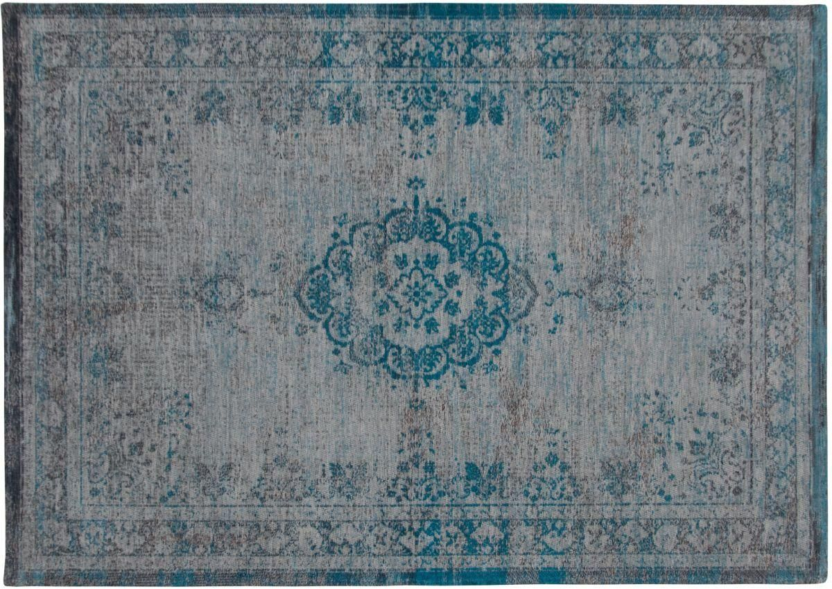 Collectie - Nieuw! - Karpet 8255-Grey_turquoise | Home Fashion, Thuis in Woonstoffering