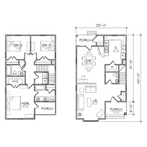 Sloping Lot House Plans Front Back Hillside Home For Lots Design Square House Plans Narrow Lot House Plans Rectangle House Plans