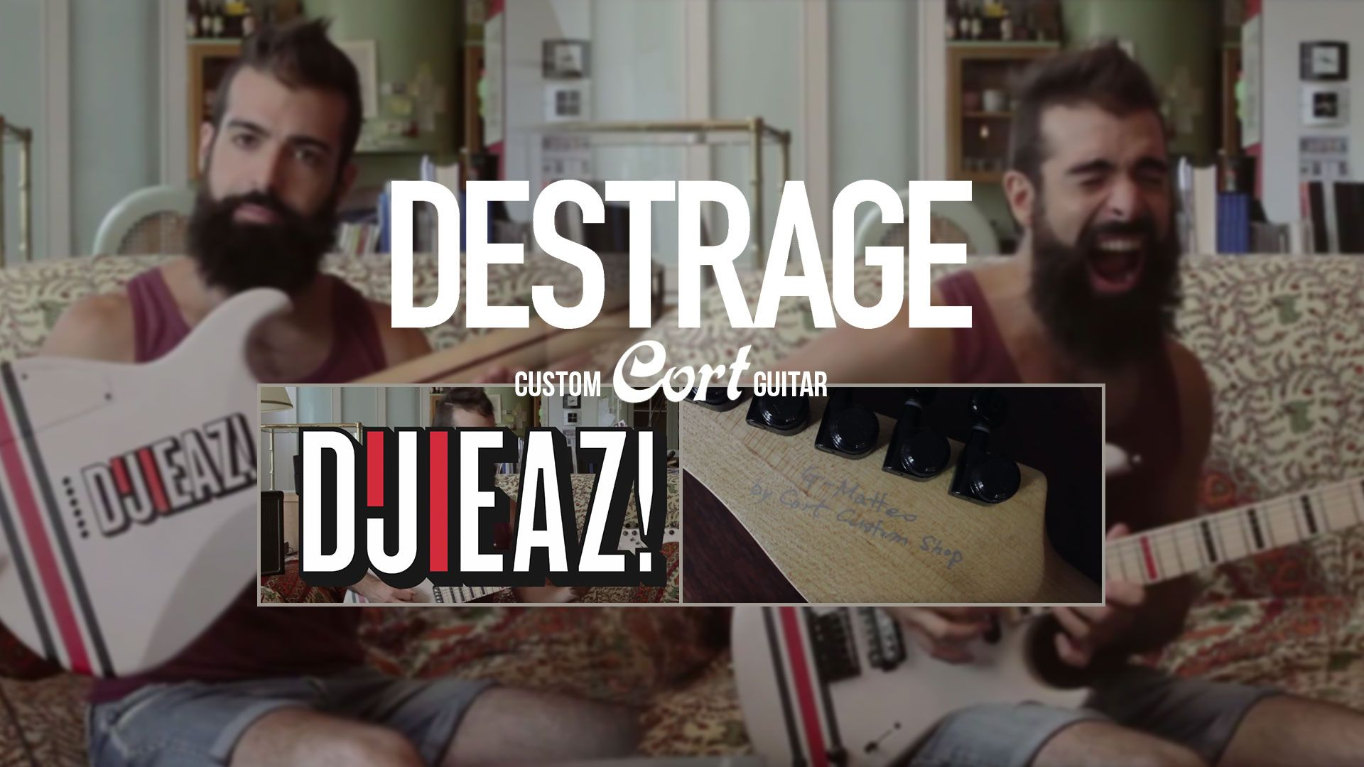 DESTRAGE release video to showcase new custom Cort guitar; begin work on new album Metal Blade Records  Milan, Italy's Destrage have just returned home from a successful performance at the Euroblast Festival in Koln, Germany (photos on facebook here ; https://www.facebook.com/Destrage/photos/a.10150313589120104.518505.111342640103/10156067862295104/?type=3 ) and are excited to get to work on their follow up to Are You Kidding Me?
