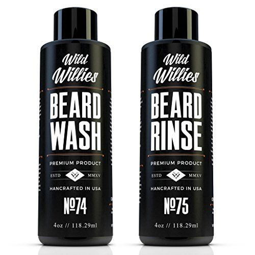 Wild Willies Beard Wash and Conditioner Bundle Packed with