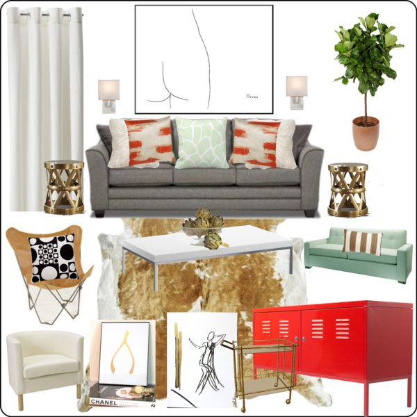 Mint Green And Red Living Room Mood Board By Comfortandjoy Via Polyvore Moodboards Moodboard Livingroom Mint With Images Living Room Red New Living Room Living Room