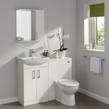 Ardenno Gloss White Toilet Pack Image 2 & Ardenno Gloss White Toilet Pack: Image 2 | New house ideas ...