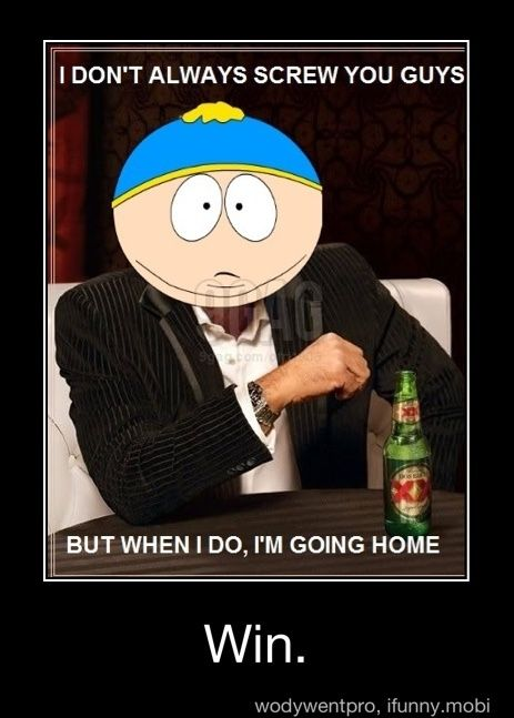 South Park Win :)